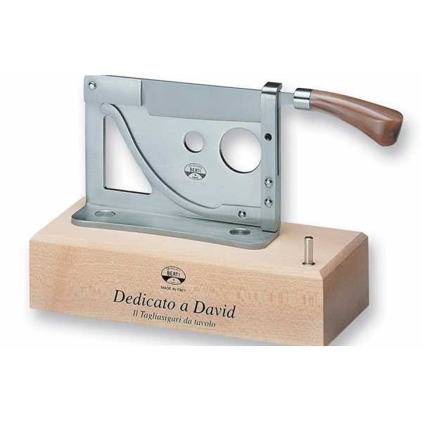 Coltellerie Berti - 1895 - Counter Cigar Cutter - N. 195 - Exclusive Artisan Knives - Handmade in Italy