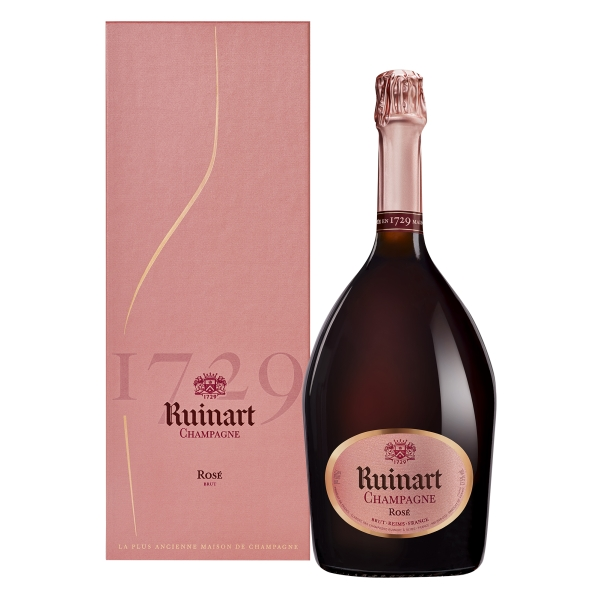 Ruinart Champagne 1729 - Rosé - Magnum - Astucciato - Chardonnay - Luxury Limited Edition - 1,5 l