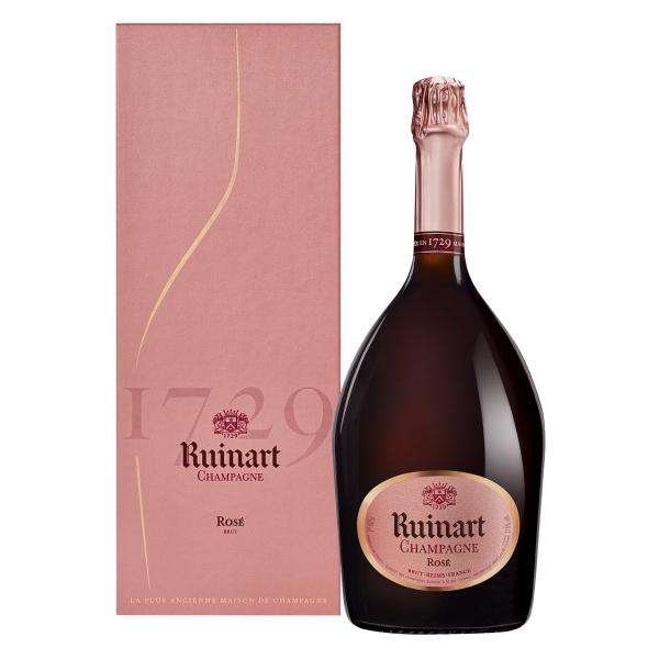 Ruinart Champagne 1729 - Rosé - Magnum - Coffret Box - Chardonnay - Luxury Limited Edition - 1,5 l