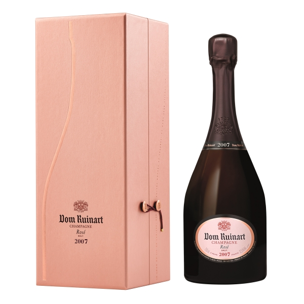 Ruinart Champagne 1729 - Dom Ruinart Rosé - 2007 - Astucciato - Chardonnay - Luxury Limited Edition - 750 ml