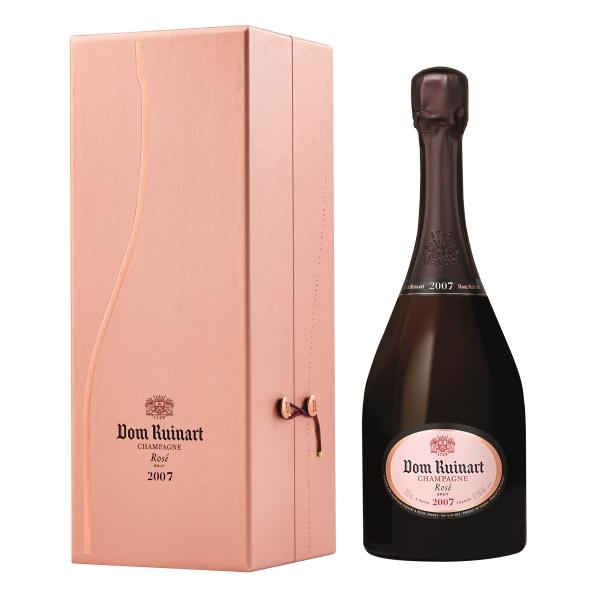 Ruinart Champagne 1729 - Dom Ruinart Rosé - 2007 - Coffret Box - Chardonnay - Luxury Limited Edition - 750 ml