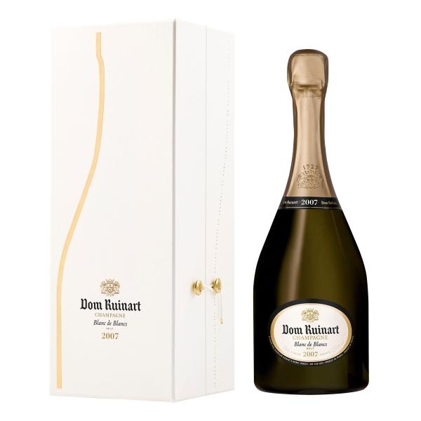 Ruinart Champagne 1729 - Dom Ruinart - 2007 - Blanc de Blancs - Coffret Box - Chardonnay - Luxury Limited - 750 ml
