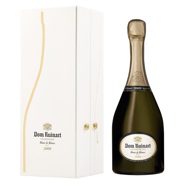 Ruinart Champagne 1729 - Dom Ruinart - 2009 - Blanc de Blancs - Coffret Box - Chardonnay - Luxury Limited - 750 ml