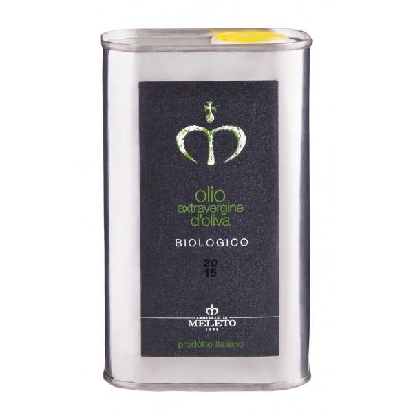 Castello di Meleto - Olio Extravergine di Oliva Biologico - Latta - 500 ml