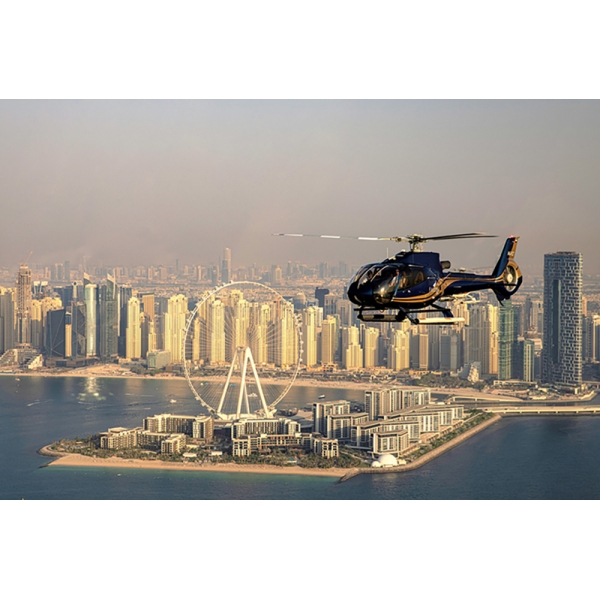 Falcon Helitours - City Circuit Heli-Tour - 25 Min - Elicottero Privato - Exclusive Luxury Private Tour