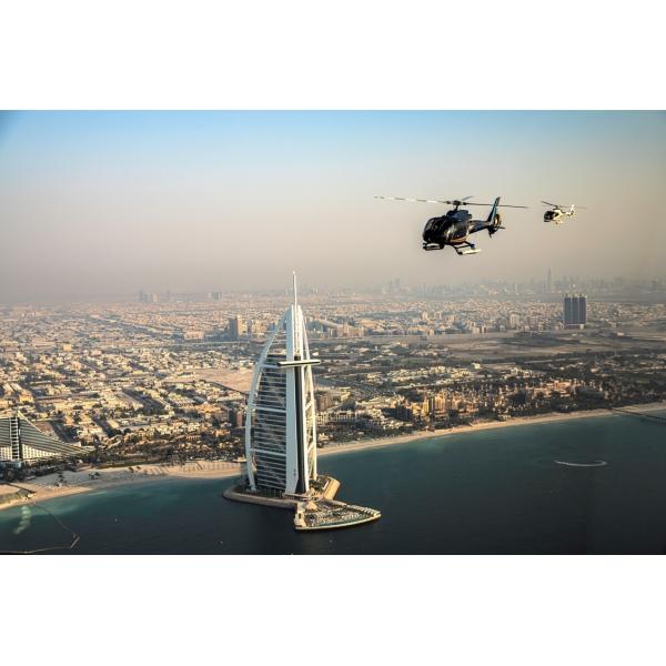 Falcon Helitours - Pearl Heli-Tour - 12 Min - Elicottero Condiviso - Exclusive Luxury Private Tour