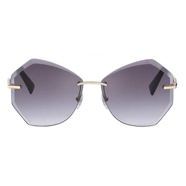 Miu Miu - Occhiali Miu Miu Scenique - Geometrici - Antracite Sfumato - Occhiali da Sole - Miu Miu Eyewear