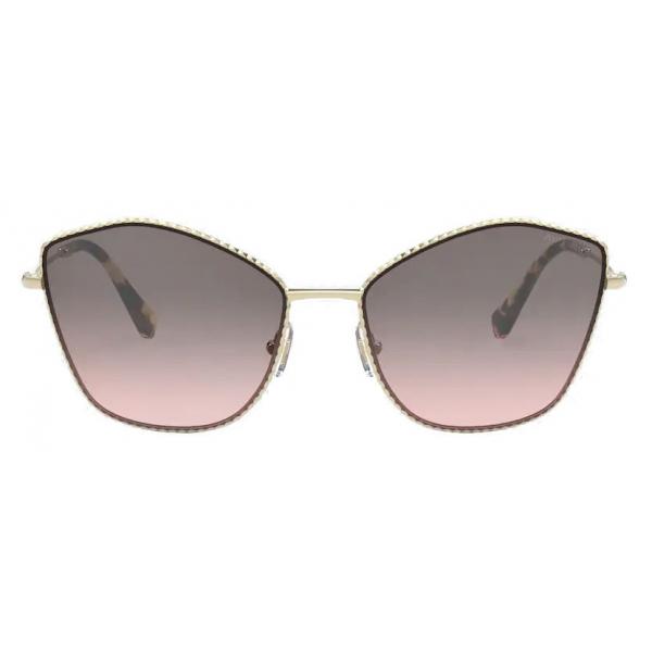 Miu Miu - Miu Miu La Mondaine Sunglasses - Cat-Eye - Smoky Gray - Sunglasses - Miu Miu Eyewear