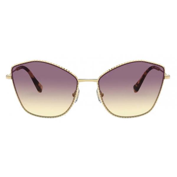 Miu Miu - Miu Miu La Mondaine Sunglasses - Cat-Eye - Gray Alabaster Gradient - Sunglasses - Miu Miu Eyewear