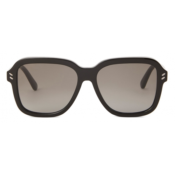 Stella McCartney - Occhiali da Sole Geometrici Marroni - Marroni - Occhiali da Sole - Stella McCartney Eyewear