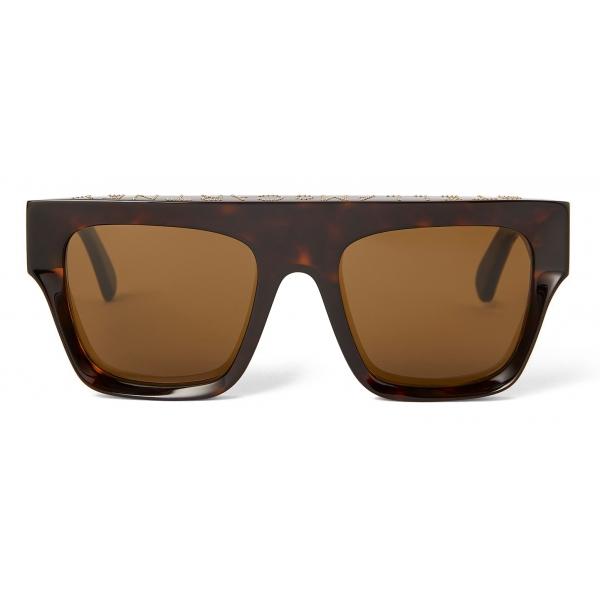 Stella McCartney - Brown Square Sunglasses - Brown - Sunglasses - Stella McCartney Eyewear