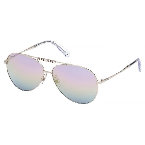 Swarovski - Occhiali da Sole Swarovski - SK0305 01B - Nero - Occhiali da Sole - Swarovski Eyewear