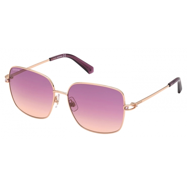 Swarovski - Occhiali da Sole Swarovski - SK0308 16Z - Viola - Occhiali da Sole - Swarovski Eyewear