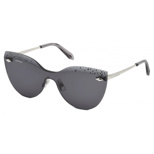 Swarovski - Occhiali da Sole Moselle - SK238-P 16W - Blu - Occhiali da Sole - Swarovski Eyewear