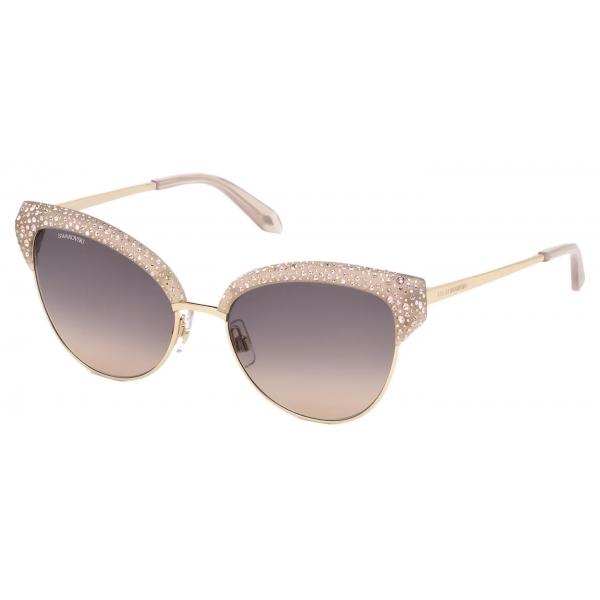 Swarovski - Nile Cat Eye Sunglasses - SK163-P 16Z - Beige - Sunglasses - Swarovski Eyewear
