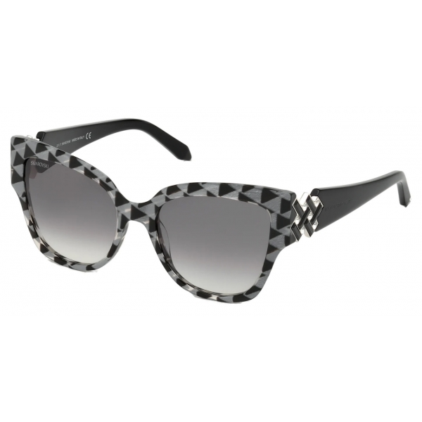 Swarovski - Moselle Cat Eye Sunglasses - SK164-P 57F - Beige - Sunglasses - Swarovski Eyewear