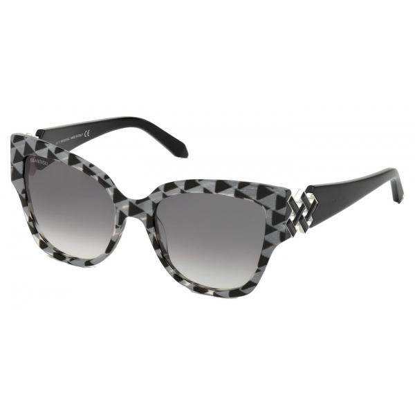Swarovski - Occhiali da Sole Moselle Cat Eye - SK164-P 57F - Beige - Occhiali da Sole - Swarovski Eyewear