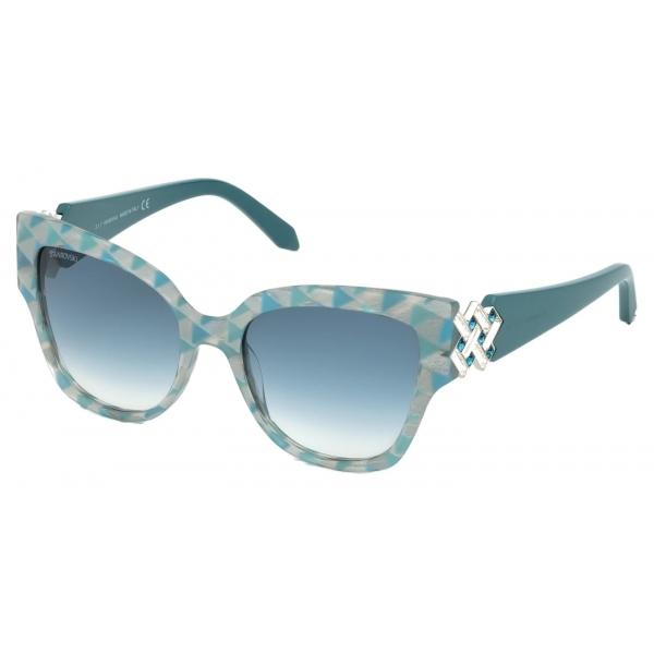 Swarovski - Occhiali da Sole Moselle Mask - SK160-P 28Z - Rosa - Occhiali da Sole - Swarovski Eyewear