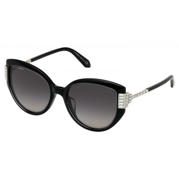 Swarovski - Occhiali da Sole Nile Square - SK161-P 87P - Verde - Occhiali da Sole - Swarovski Eyewear