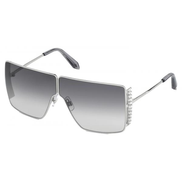 Swarovski - Nile Round Sunglasses - SK162-P 57E - Beige - Sunglasses - Swarovski Eyewear