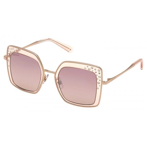 Swarovski - Occhiali da Sole Swarovski - SK0310 01B - Nero - Occhiali da Sole - Swarovski Eyewear