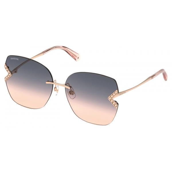 Swarovski - Swarovski Sunglasses - SK 0324-H 57F - Beige - Sunglasses - Swarovski Eyewear