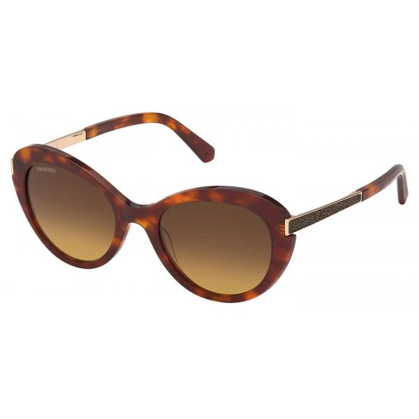 Swarovski - Occhiali da Sole Swarovski - SK0306-H 28B - Oro Rosa - Occhiali da Sole - Swarovski Eyewear