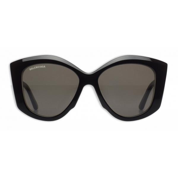 Balenciaga - Power Butterfly Sunglasses - Black - Sunglasses - Balenciaga Eyewear
