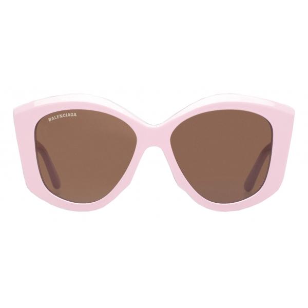 Balenciaga - Vision Butterfly Sunglasses - Dark Khaki - Sunglasses - Balenciaga Eyewear