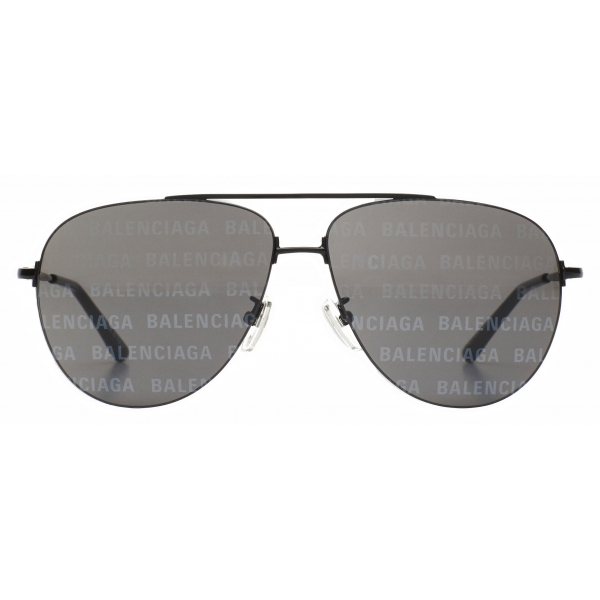 Balenciaga - Rim Rectangle Sunglasses - Black - Sunglasses - Balenciaga Eyewear
