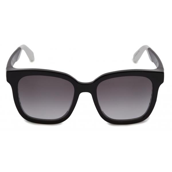 Alexander McQueen - Occhiali da Sole Pilota con Teschio Ingioiellato - Marrone Oro - Alexander McQueen Eyewear