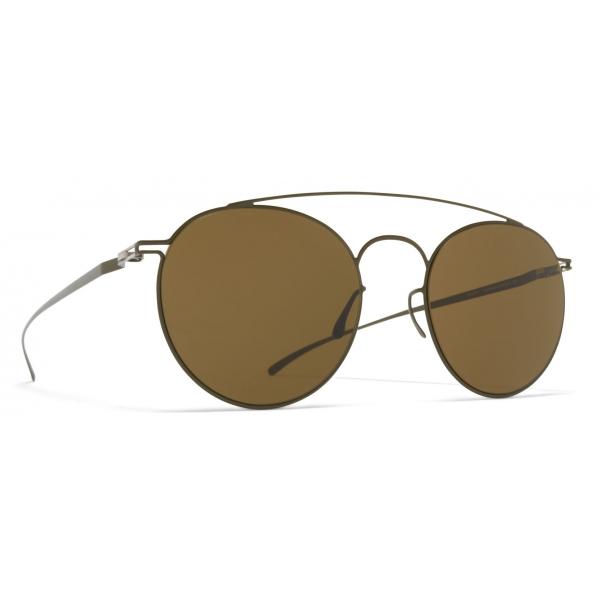 Mykita - MMCRAFT017 - Mykita & Maison Margiela - Silver Green - Metal Collection - Sunglasses - Mykita Eyewear
