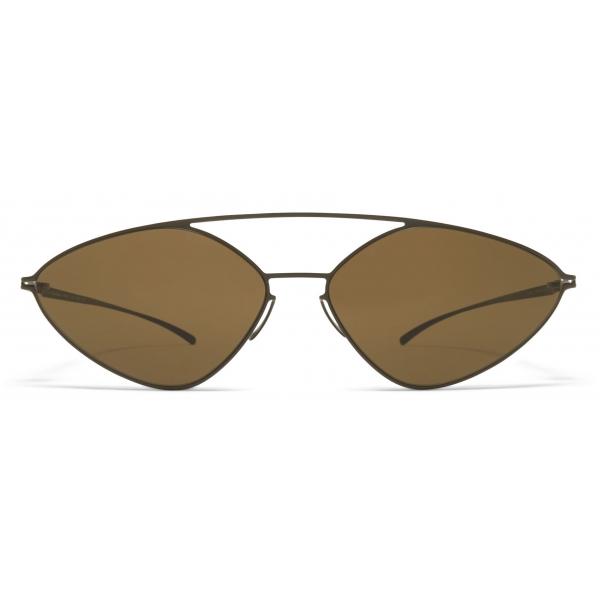 Mykita - MMESSE007 - Mykita & Maison Margiela - Camou Green Brown - Metal Collection - Sunglasses - Mykita Eyewear