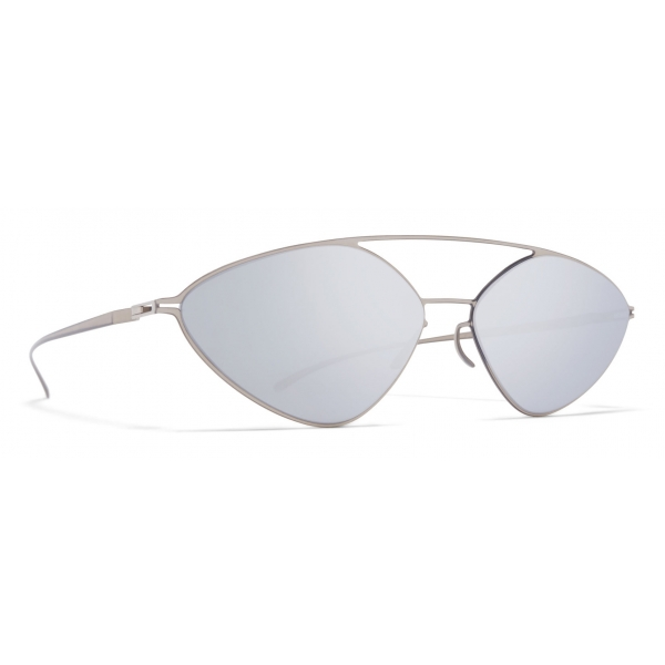 Mykita - MMESSE023 - Mykita & Maison Margiela - Camou Green Brown - Metal Collection - Sunglasses - Mykita Eyewear