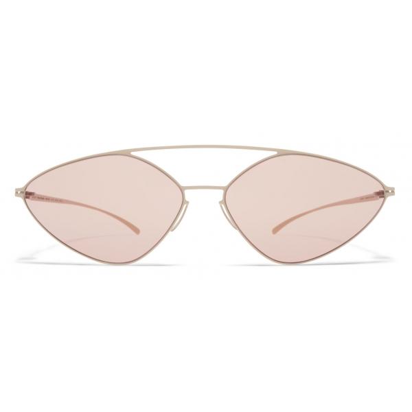Mykita - MMESSE023 - Mykita & Maison Margiela - Silver - Metal Collection - Sunglasses - Mykita Eyewear