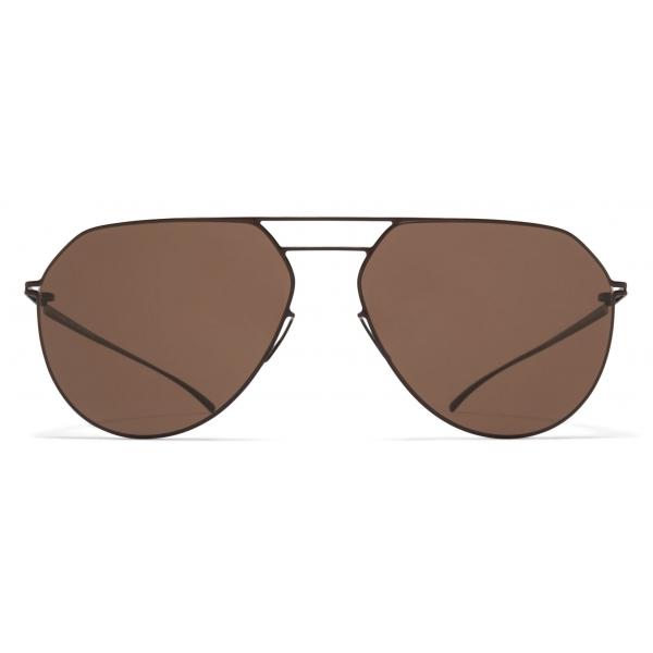 Mykita - MMESSE024 - Mykita & Maison Margiela - Dark Caramel Brown - Metal Collection - Sunglasses - Mykita Eyewear