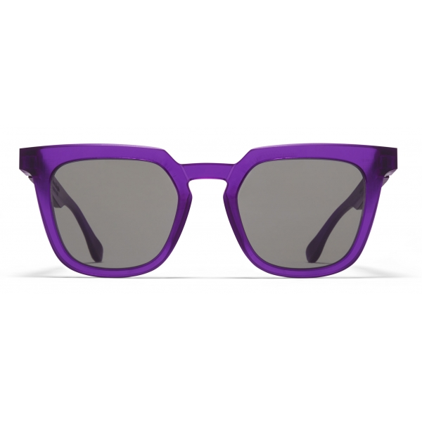 Mykita - MMRAW008 - Mykita & Maison Margiela - Amber Brown - Acetate Collection - Sunglasses - Mykita Eyewear