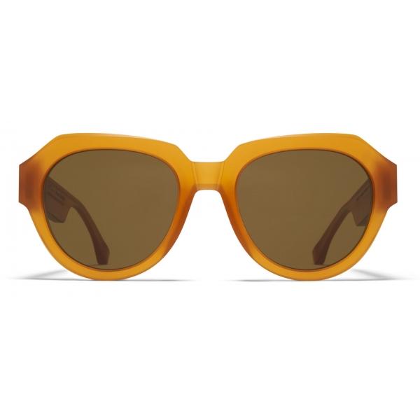 Mykita - MMRAW008 - Mykita & Maison Margiela - Amethyst Grey - Acetate Collection - Sunglasses - Mykita Eyewear