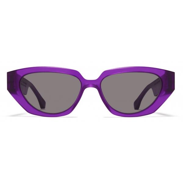 Mykita - MMRAW015 - Mykita & Maison Margiela - Amber Brown - Acetate Collection - Sunglasses - Mykita Eyewear