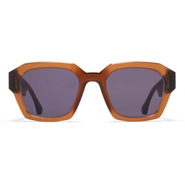 Mykita - MMRAW019 - Mykita & Maison Margiela - Melrose Brown - Acetate Collection - Sunglasses - Mykita Eyewear