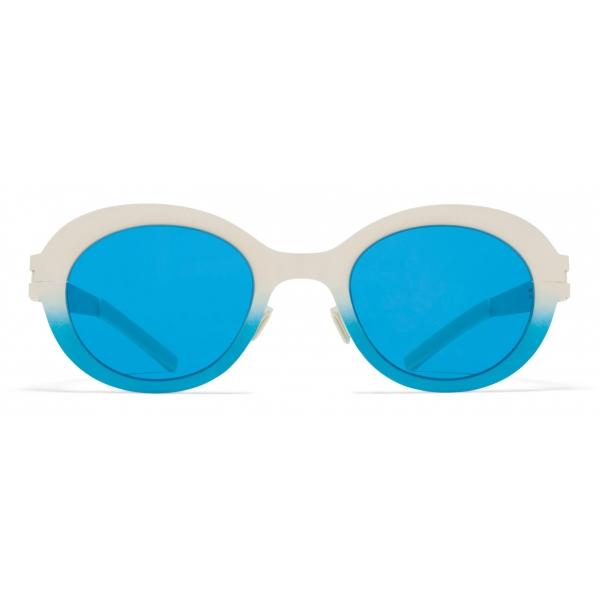 Mykita - Deep - Mykita & Bernhard Willhelm - Umber Silver Green - Mylon Collection - Sunglasses - Mykita Eyewear