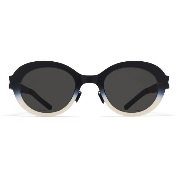 Mykita - Focus - Mykita & Bernhard Willhelm - White Turquoise - Mylon Collection - Sunglasses - Mykita Eyewear