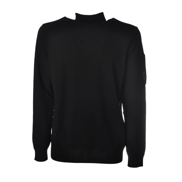 C.P. Company - Combed Wool Crewneck Pullover - Anthracite - Sweater - Luxury Exclusive Collection