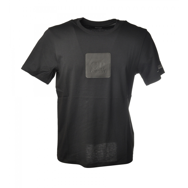 C.P. Company - T-Shirt with Rubberized Box - Black - Sweater - Luxury Exclusive Collection