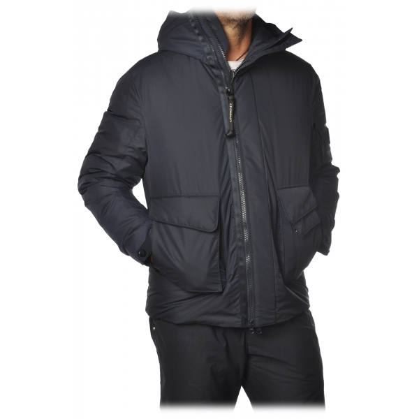 C.P. Company - Parka Jacket with Hood - Blue - Jacket - Luxury Exclusive Collection