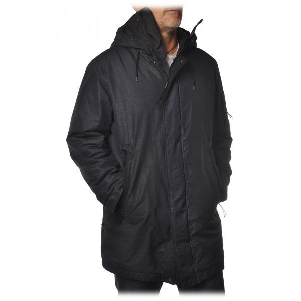 C.P. Company - Technical Jacket with Hood - Black - Jacket - Luxury Exclusive Collection
