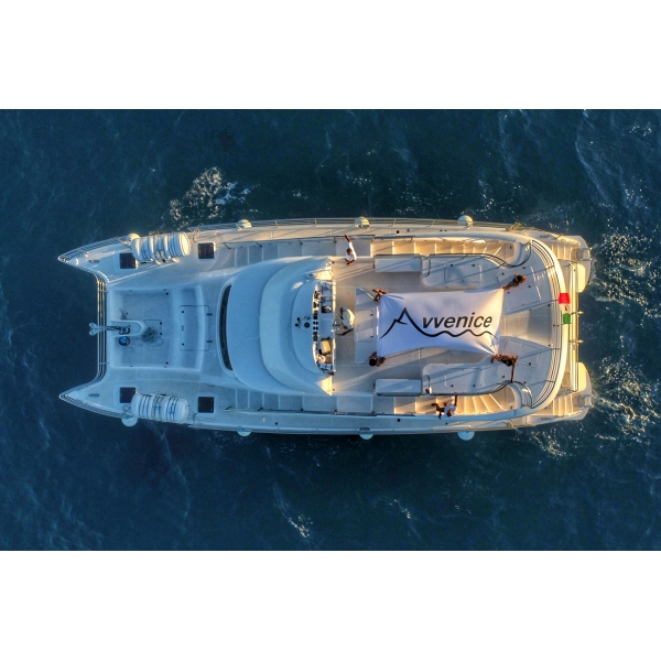 Salento in Barca - Utopia Exclusive Tour - Matrimonio - Maxi Catamarano - Yacht - Crociera Panoramica - Salento - Puglia