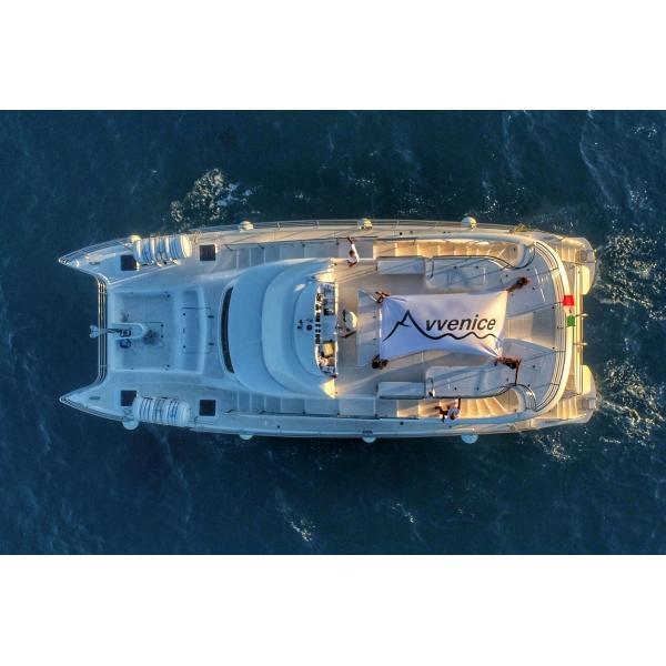 Salento in Barca - Utopia Exclusive Tour - Triteia Tour - Maxi Catamaran - Yacht - Panoramic Cruise - Salento - Puglia