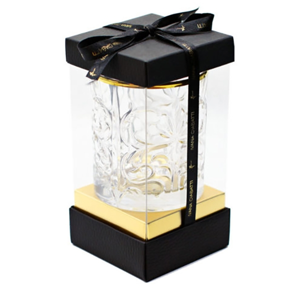 Ivana Ciabatti - Bicchiere in Oro - 6 Pezzi - Gold Limited Edition - Prezioso Bicchiere in Vetro - Handmade in Italy Home Luxury