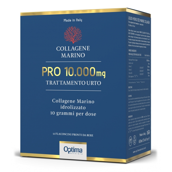 Optima Naturals - Marine Collagen Pro 10,000 Mg - Urto Treatment - Natural Lifting Effect